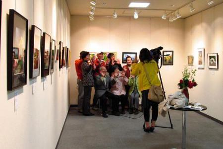 写真展と清水の桜 202