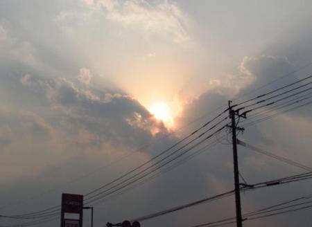 夕陽 091