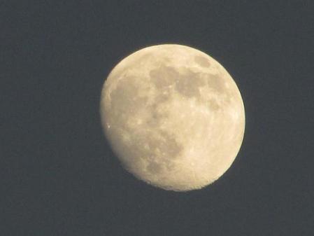 お月様と温泉 007