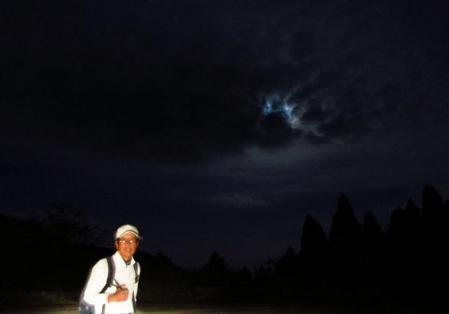 天山の夜明け 003