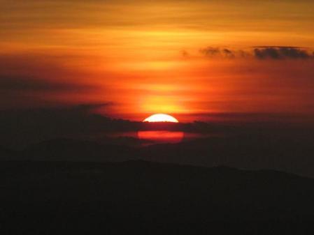 天山の夜明け 036