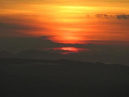 天山の夜明け 034
