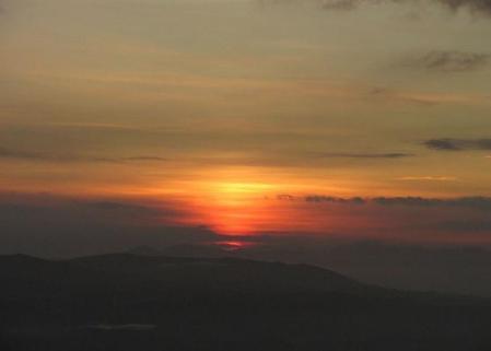 天山の夜明け 033