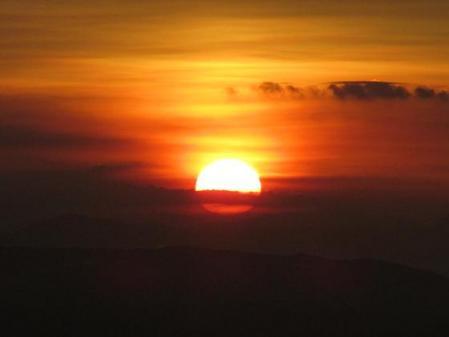 天山の夜明け 039