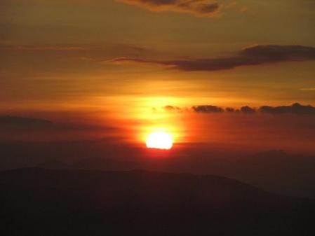 天山の夜明け 041