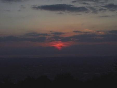 夕陽 073