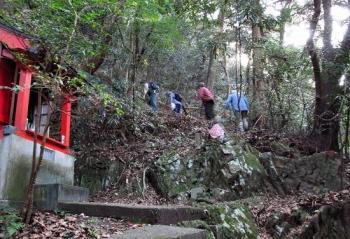 松尾ちゃんと登る清水山 023