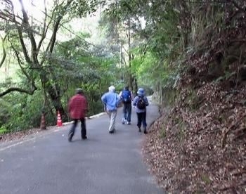 松尾ちゃんと登る清水山 018