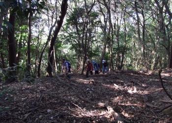 松尾ちゃんと登る清水山 053