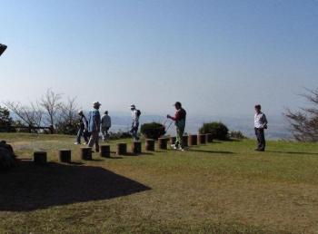 松尾ちゃんと登る清水山 112