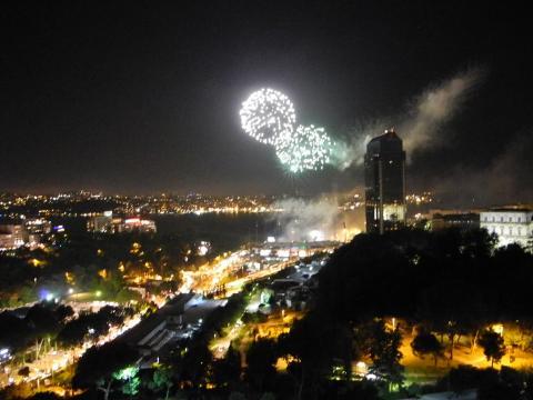 イスタンブールの花火