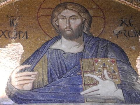 キリストのモザイク絵