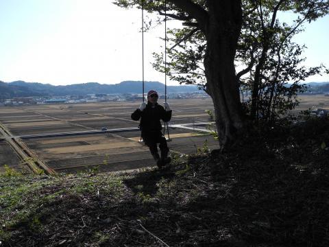 館山のブランコ