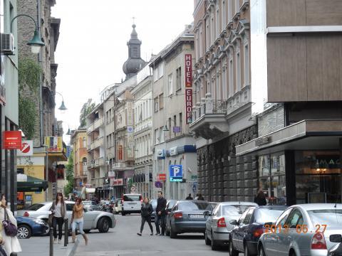 サラエボの市街地