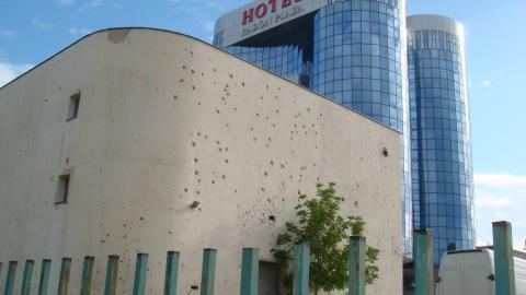サラエボのホテル