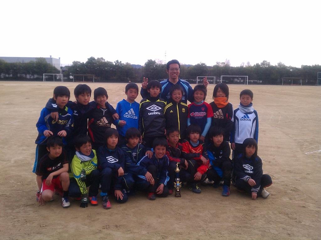 長岡京SSサッカー大会 準優勝