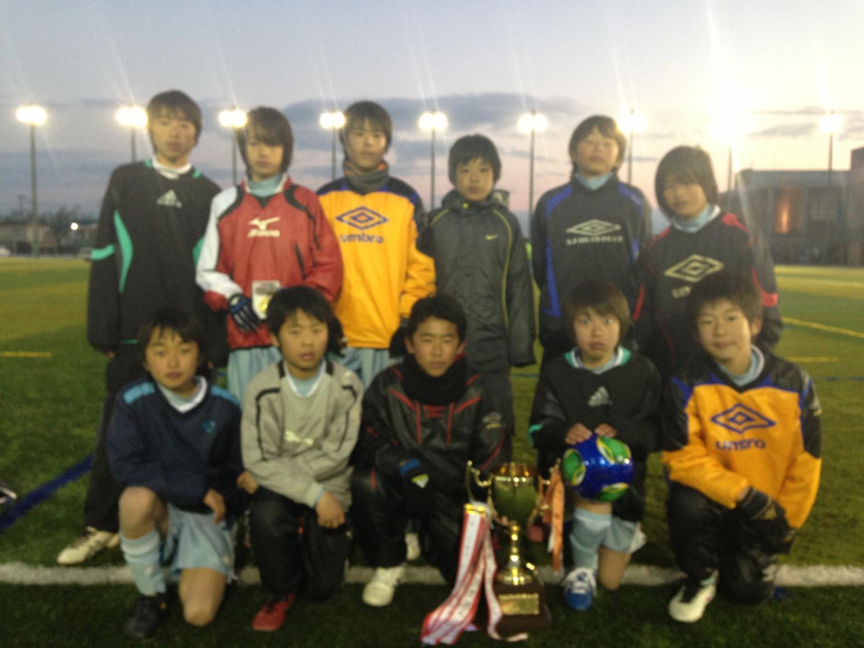 第10回 追手門杯 U-12 優勝!