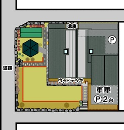 太陽光発電 南阿蘇村一関 配置図