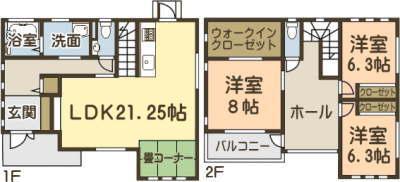 レンガの家 大牟田 モデルハウス ツーバイフォー