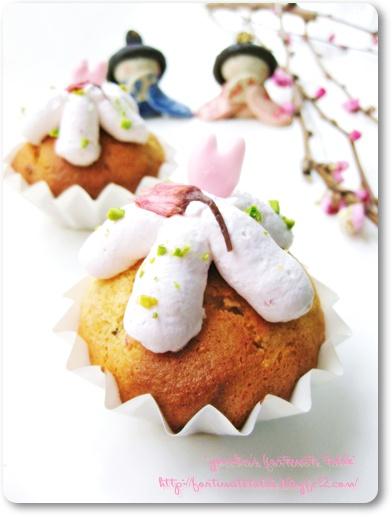 *桜のカップケーキ②*