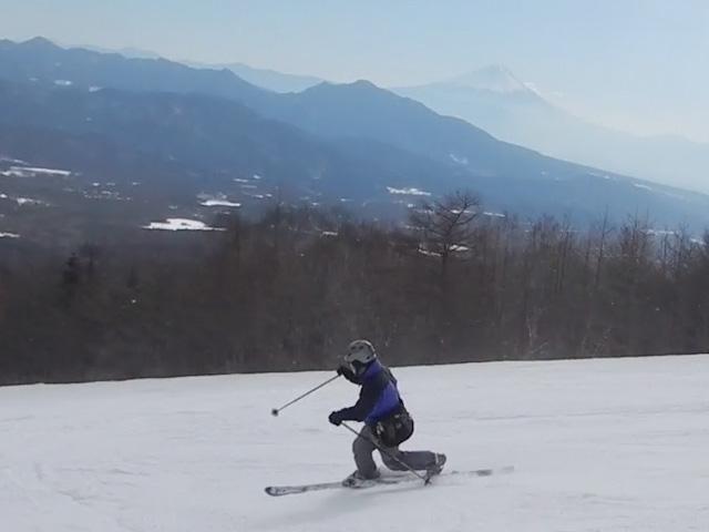 サンメドウズ清里スキー w息子の友達のパパと