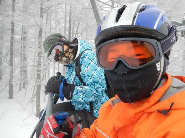 戸隠&黒姫スキー旅行