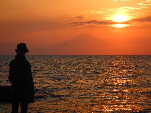 黒崎の鼻の夕日
