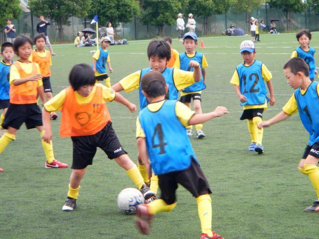 息子の少年サッカー大会