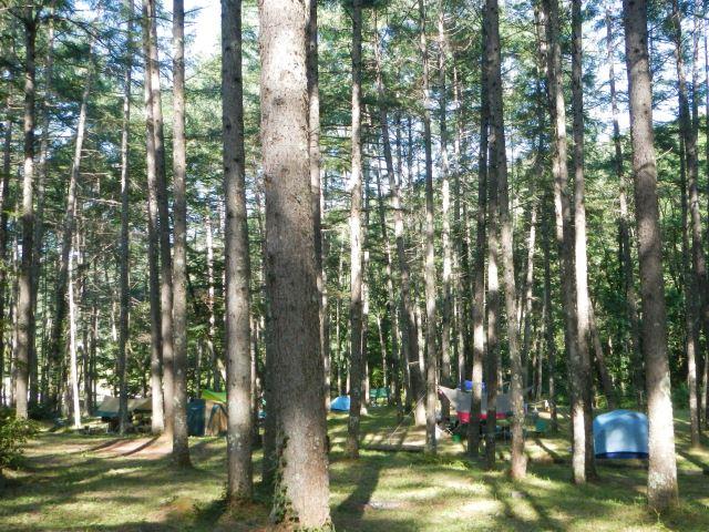 立場川キャンプ場~八ヶ岳めぐり