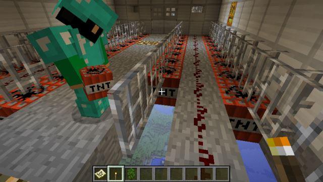 Minecraft爆撃機
