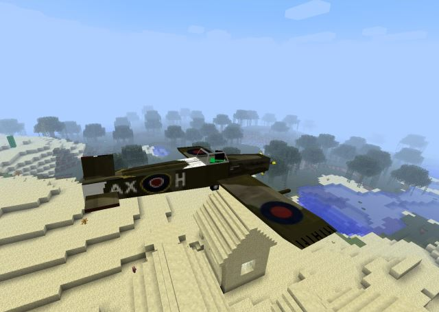 Minecraft飛行機Mod vs Microsoft Flight