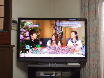 液晶テレビGET♪