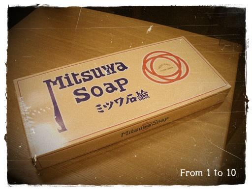 ミツワ石鹸①