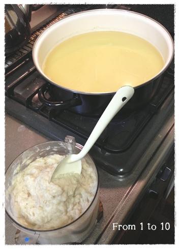 鶏団子鍋①
