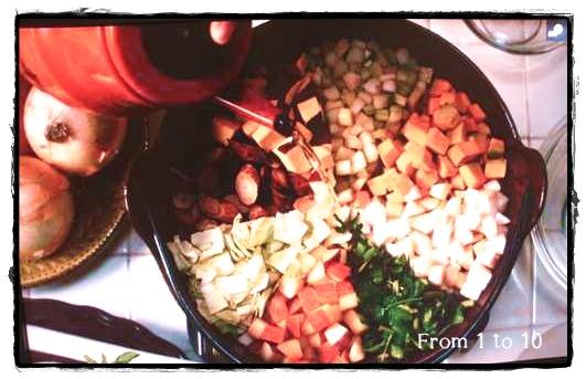 スープの煮方