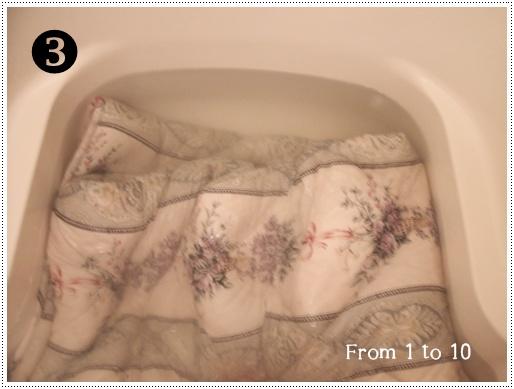 2013ベッドパッド洗濯③