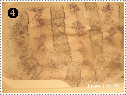 2013ベッドパッド洗濯④