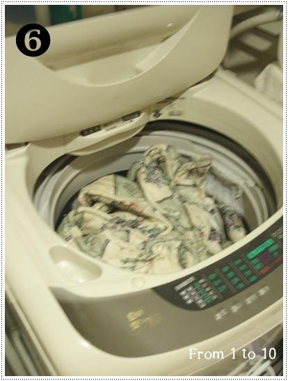 2013ベッドパッド洗濯⑥