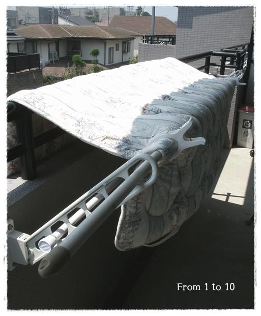 2013ベッドパッド乾燥