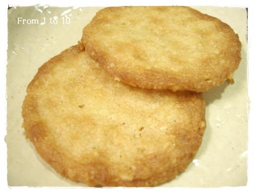 オーツクリスプクッキー③