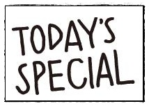 TODAY'S SPECIAL の オンラインストアできてますね~♪