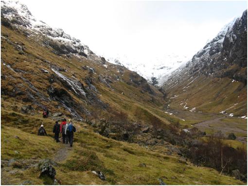 冬山登山9
