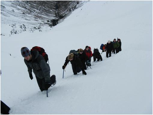 冬山登山10