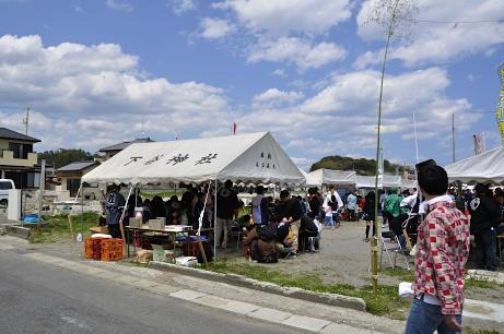 5月4日東京都の神社関係の有志よる諏訪神社縁日2