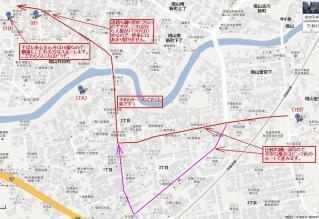 8番拡大地図