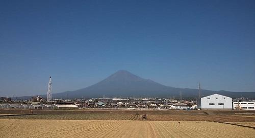 青空富士山