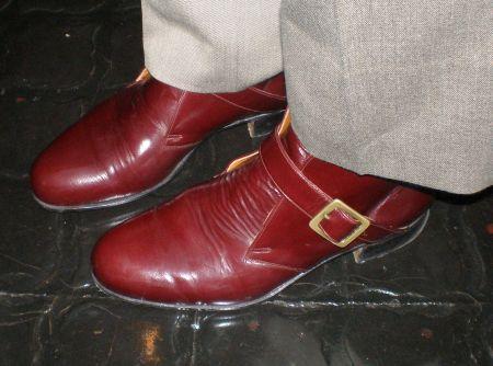 お客様が作った革靴