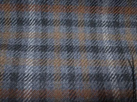 EDWINWOODHOUSEのカシミア混ウールのジャケット生地