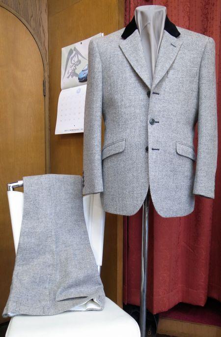 ウーレンのツイードスーツ