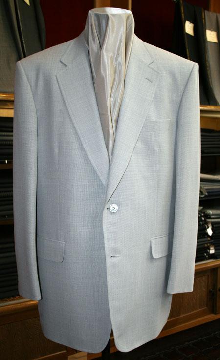 ダイドーの亜熱帯ライトグレーのサマージャケット
